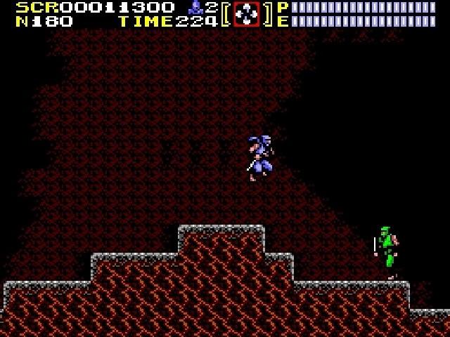 Jouez à Ninja Gaiden sur Sega Master System grâce à nos Bartops Arcade et Consoles Retrogaming