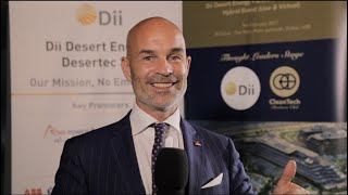 """Dii to drive the CleanTech Decade with """"Desertec 3.0"""" - Cornelius Matthes, CEO at Dii Desert Energy"""