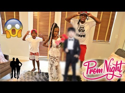 YAYA's GOING TO PROM WITH A BOY PRANK ON DAD
