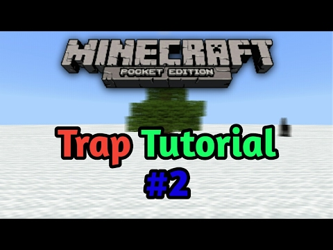 Minecraft PE Trap Tutorial #2:Never Expected Tree
