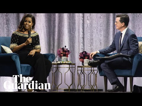 Michelle Obama on meeting the Queen and how to cope in difficult political times - Тривалість: 2:12.