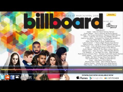 Billboard Top Singles Of March/April 2016 Mix ( Dance Club /Future House) **Free Download**