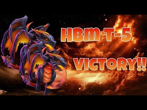Castle Clash HBM T VICTORY!