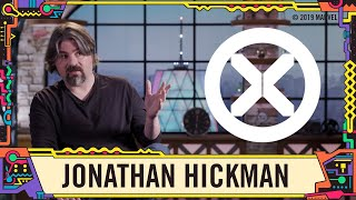 Jonathan Hickman on the future of the X Men at SDCC 2019!