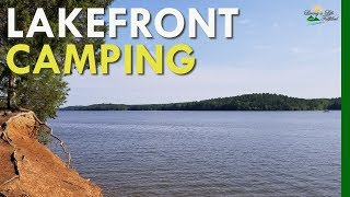 Lake Wateree, SC - Campground relaxation, RV style
