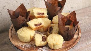 Nutella Stuffed Vanilla Muffins   Episode 1136