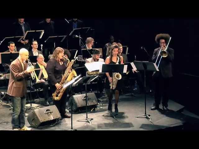 McNally Smith Hornheads Tribute @ Winter Jazz Blast 2015