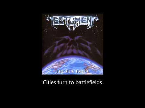 Testament - The New Order (Lyrics)