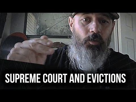 Supreme court and evictions