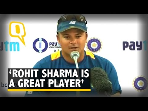 Rohit Sharma is a Great Player: Charl Langeveldt
