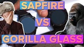 Что лучше Сапфировое стекло или Gorilla Glass DX на часах Garmin