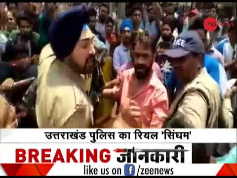 Watch: Uttarakhand Sikh police officer saves Muslim youth from violent mob