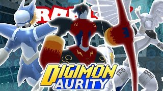 Digimon Aurity - Gargoylemon, Depthmon & Sagittarimon! *NEW ARMOR DIGIMON* (Roblox)