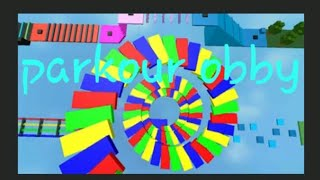 Obby parkour (roblox)