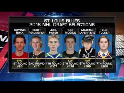 NHL Tonight:  Bill Armstrong:  on Blues` busy offseason  Aug 30,  2018