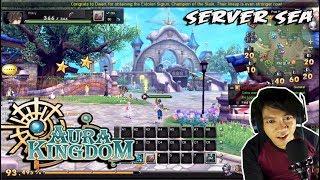 Game yang INDAH !!!! Aura Kingdom (SEA) Char Creation - MMORPG PC GAME