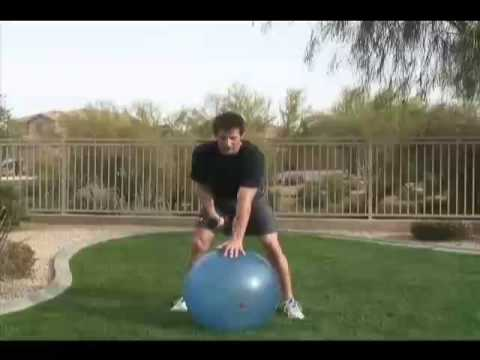 How To Improve Golf Swing Power - Rotational Exercise With Dumbbell