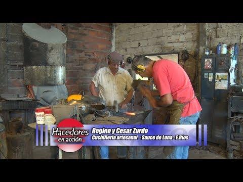 Cuchillos artesanales - Regino y Cesar Zurdo - Sauce de Luna