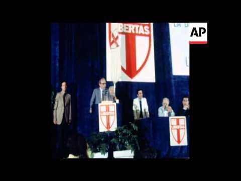 UPITN 3 6 79 CHRISTIAN DEMOCRATS EEC ELECTION CAMPAIGNS
