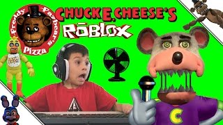 Five Nights at Freddy's Chuck E Cheese ROBLOX Game JUMP SCARE FNAF CEC