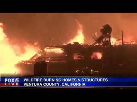 Calif. wildfire update