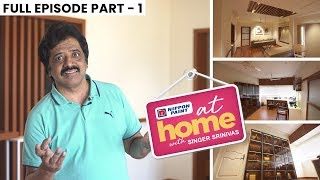 At home with Singer Srinivas | JFW Exclusive