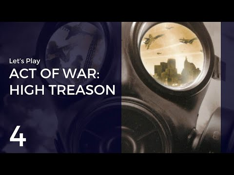 Let's Play Act of War: High Treason #4 | Red Cell
