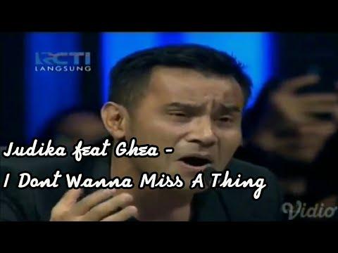 Merinding! Ghea feat Judika - i dont wanna miss a thing (aerosmith)