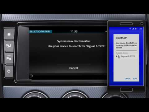 2018 Jaguar F-TYPE - Bluetooth Phone Pairing Instructions for InControl Touch Pro