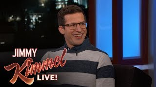Andy Samberg Reveals Why White Guys Shouldn