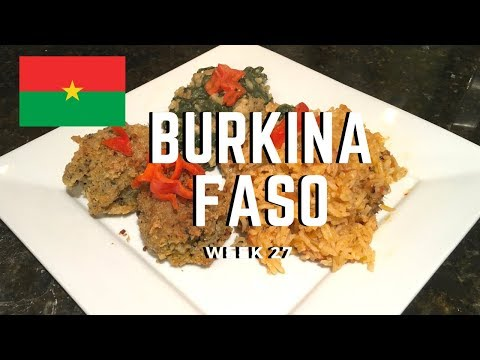Second Spin, Country 27: Burkina Faso [International Food]