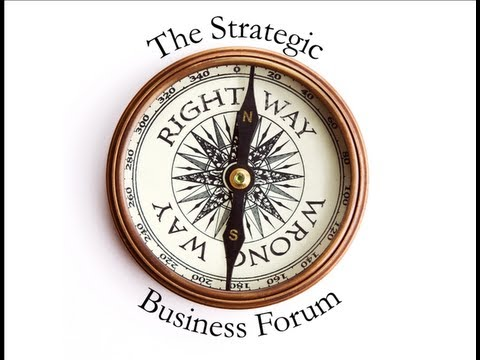June Jewell interviewed by Ingar Grev at the Strategic Business Forum