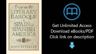 Essays on the Literary Baroque in Spain and Spanish America (Monografías A)