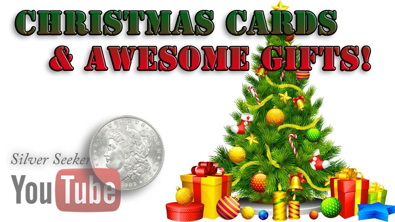 Christmas Cards and Gifts - Thank You!!! - YouTube