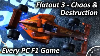 Flatout 3 - Chaos & Destruction (2011) - Every PC F1 Game