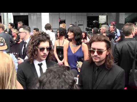 Peking Duk: Interview on the ARIA Red Carpet (2014)