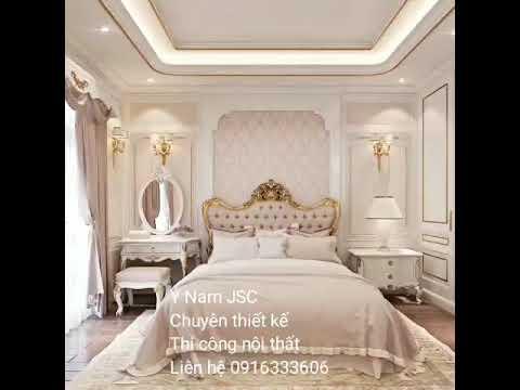 Mẫu thiết kế phòng ngủ nhà phố Manhattan - Vinhomes Grand Park. Liên hệ 0916.333.606