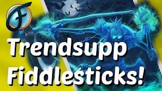 Der Schrecken lauert euch auf! Support Fiddlesticks ist im Trend | Gameplay German