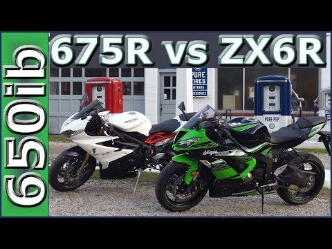 Triumph Daytona R vs Kawasaki R | Review and SMACKDOWN!!!