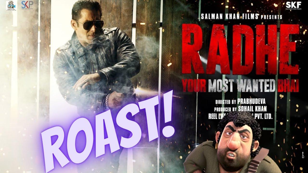 THE LAND OF Radhe | CARRYMINATI Roast Salman Khan feat Social media ban