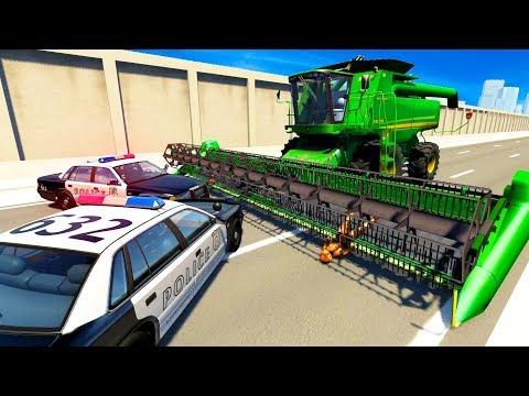 WILD POLICE ROADBLOCK & BLOCKADE CRASHES AND FAILS!