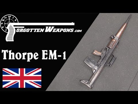 Thorpe EM-1: A Bullpup Take on the Roller Locked Gerat 06