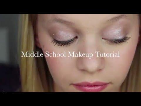 middle school makeup tutorial drugstore
