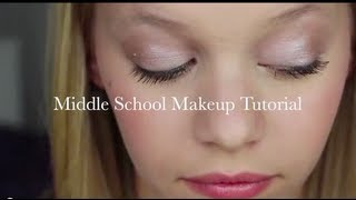 Middle School Makeup Tutorial (Drugstore Edition) Thumbnail