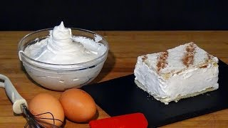 Receta Merengue Suizo - Recetas de cocina, paso a paso, tutorial