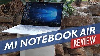 xiaomi mi notebook air review in depth core m3 model