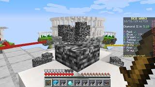 So I secretly used a bedrock generator in Minecraft Bedwars...