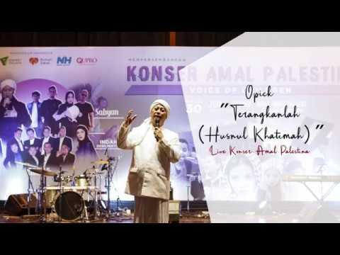 Opick - Terangkanlah (Live At Konser Amal Voice For Children)