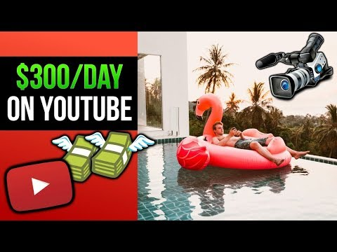 How To Make $300/Day On Youtube (Simple Strategies)