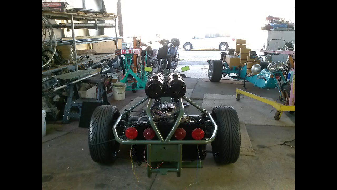 vw trike build 4  YouTube